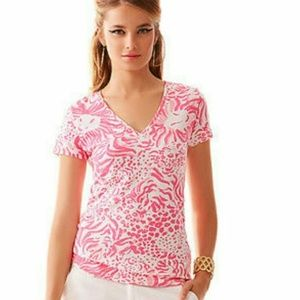 """Lilly Pulitzer Michele Top """"Get Spotted"""""""